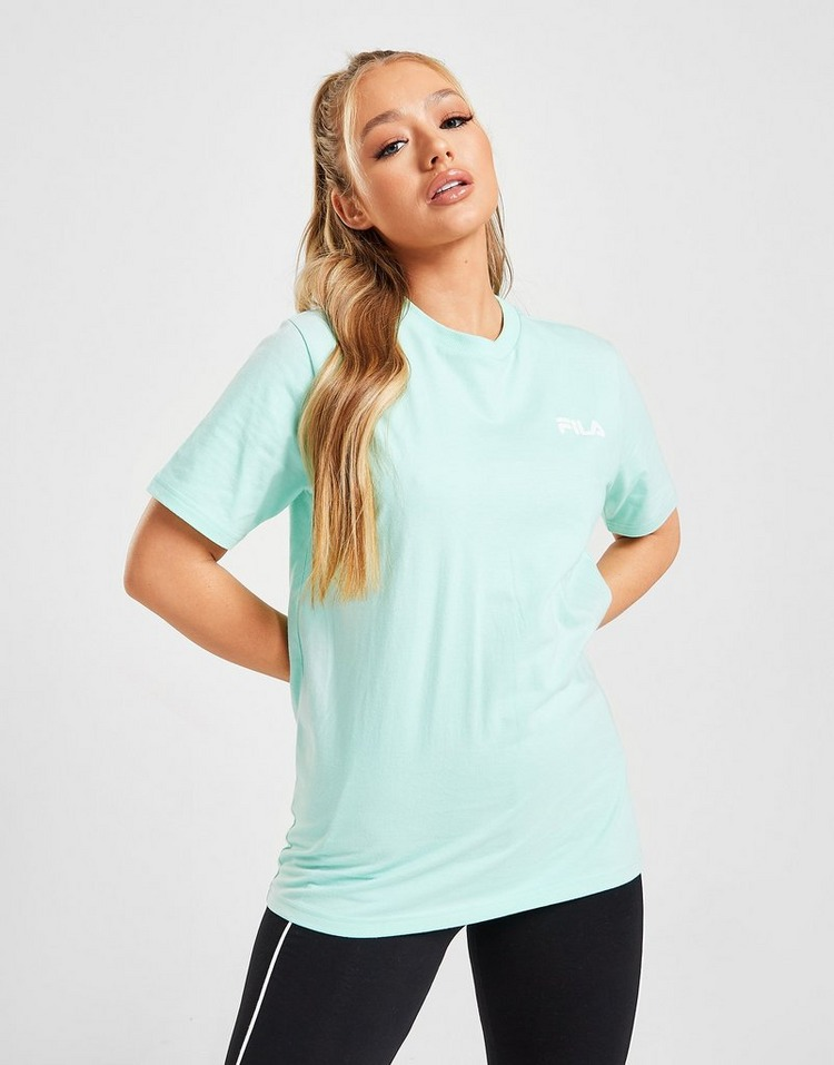 Fila Reflective Back Logo Boyfriend T-Shirt