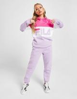 Fila Colour Block Logo Boyfriend Hoodie