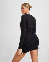 Fila Long Sleeve Pipe Fitted Dress