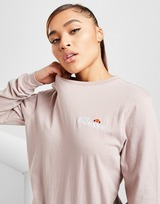 Ellesse Core Long Sleeve Boyfriend T-Shirt