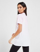 SikSilk Pinstripe Fade Boyfriend T-Shirt
