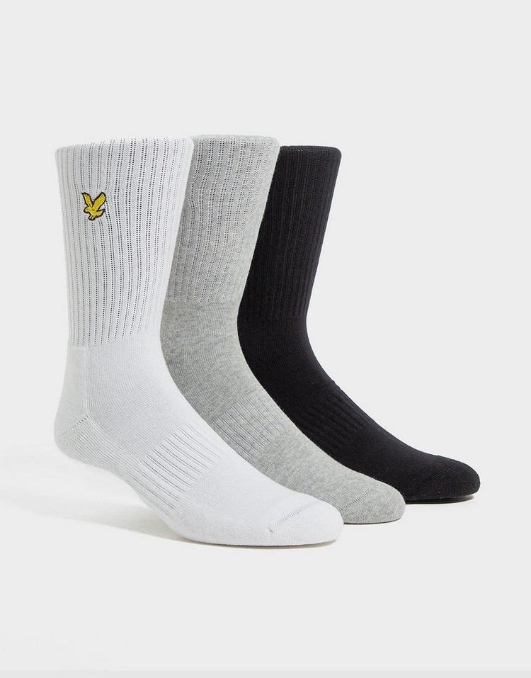 Lyle & Scott Pack de 3 paires de chaussettes Homme