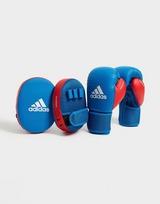 adidas Boxing Gloves & Focus Mitts Set Kids
