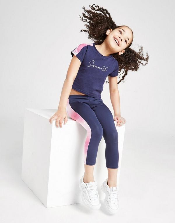 Sonneti Girls' Mini Toyko T-Shirt Leggings Set Children