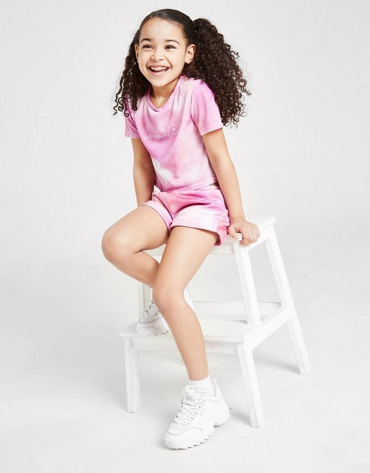 Sonneti conjunto camiseta/shorts Mini Cortina infantil