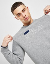 Fila Large Logo Crew Sweatshirt