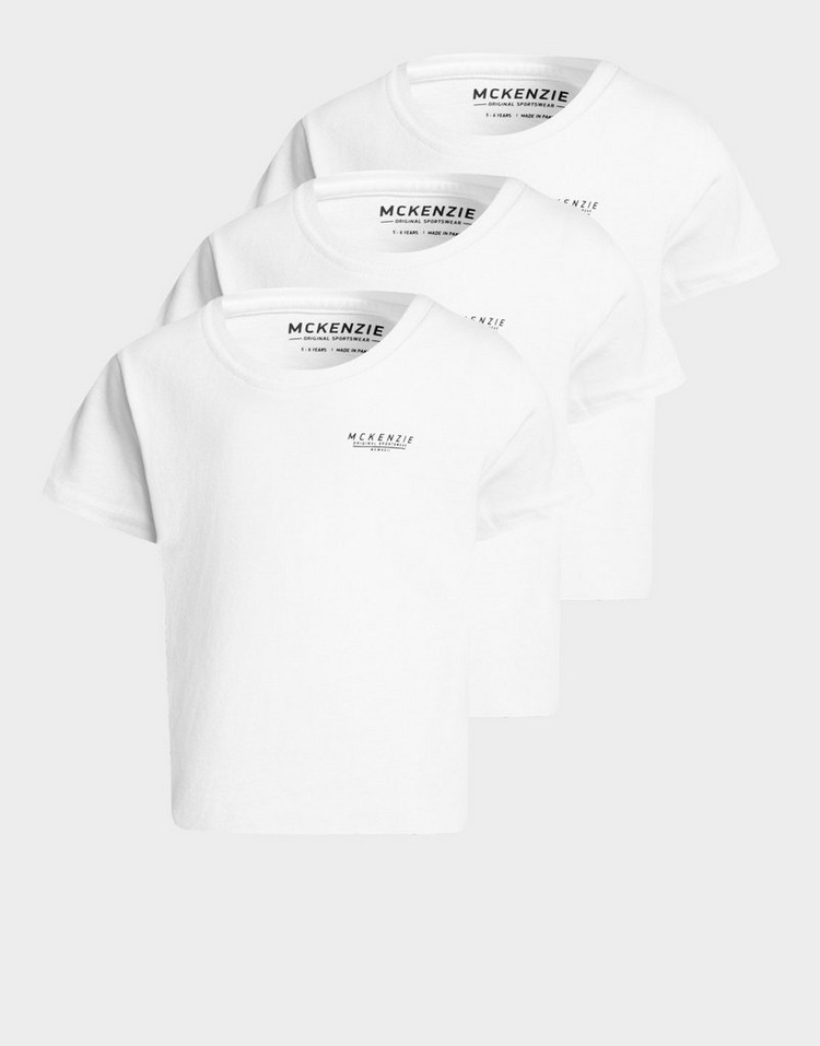 McKenzie pack de 3 camisetas Mini Essential infantil