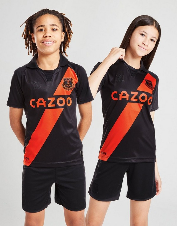 Hummel Everton FC 2021/22 Away Shirt Junior