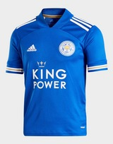 adidas Leicester City FC 2020/21 Home Shirt Junior
