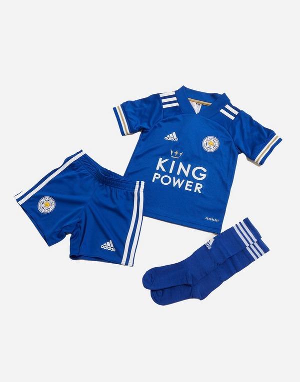 adidas Leicester City FC 2020/21 Home Kit da calcio Bambino in ...