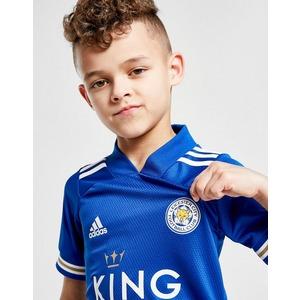 adidas Leicester City FC 2020/21 Home Kit da calcio Bambino