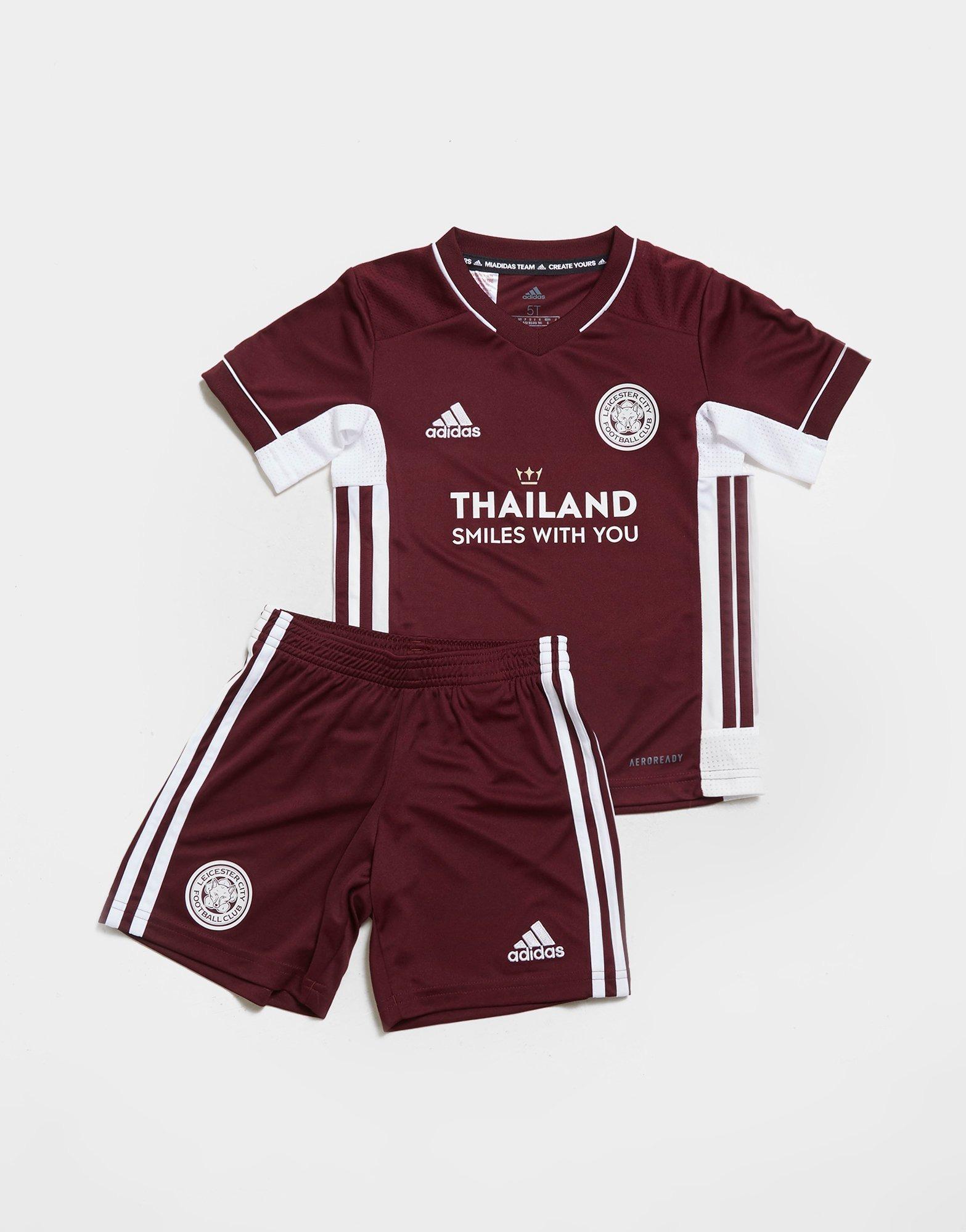 adidas Leicester City FC 2020/21 Terza Divisa Bambino | JD Sports