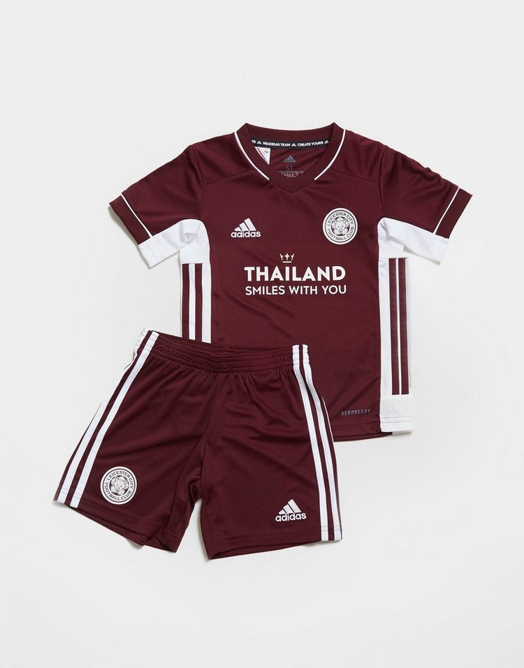 adidas Leicester City FC 2020/21 Third Kit Children