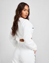 adidas Originals Micro Tape Crop Crew Sweatshirt