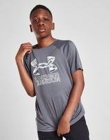Under Armour Tech Hybrid Print Fill T-Shirt Junior