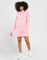 GUESS Triangle Logo Hoodie Dress