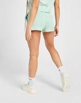 GUESS Triangle Logo Fleece Shorts