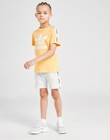 adidas Originals Tape T-Shirt/Shorts Set Children