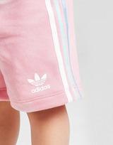 adidas Originals Girls' Tristripe T-Shirt/Shorts Set Infant