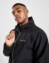Nicce Kinetic Full Zip Woven Run Jacket