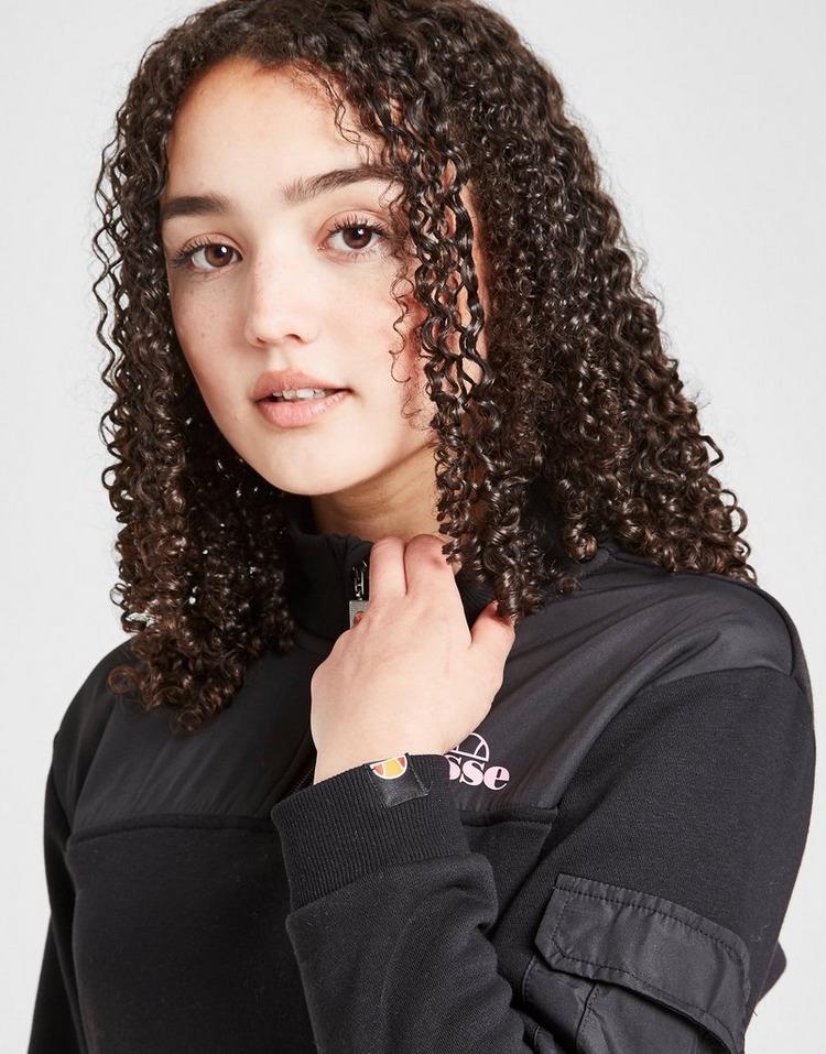 Ellesse Girls' Livo Cropped 1/2 Zip Top Junior