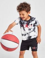 Jordan conjunto camiseta/pantalón corto Jumpman Tie Dye para bebé