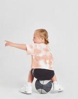 Jordan Girls' Tie Dye T-Shirt/Shorts Set Infant