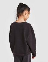 Nike Girls' Washed Crew Sweatshirt Children