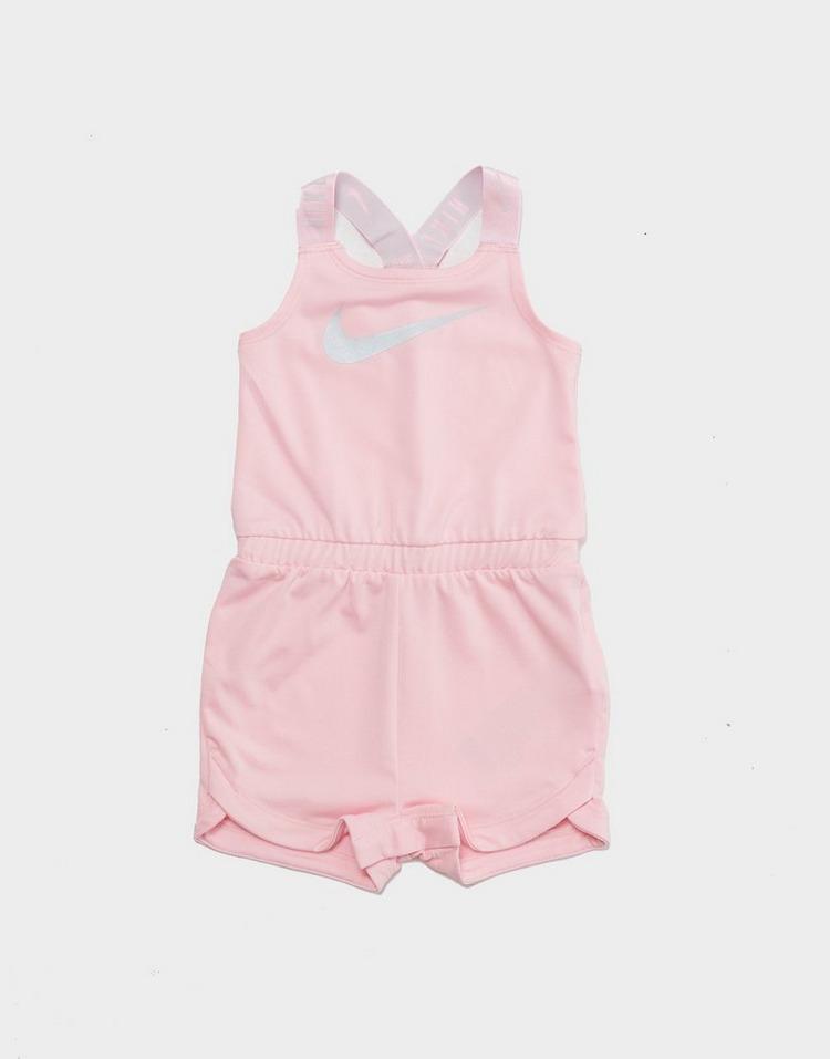 Nike Girls' Swoosh Romper Suit Infant