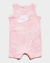 Nike Girls' Magic Tie Dye Romper Babygrow Infant