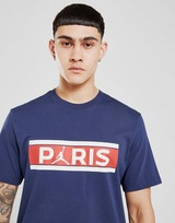 Jordan Paris Saint Germain Wordmark T-Shirt
