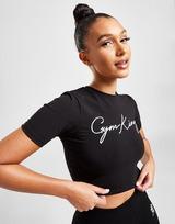 Gym King T-Shirt Script Slim Crop