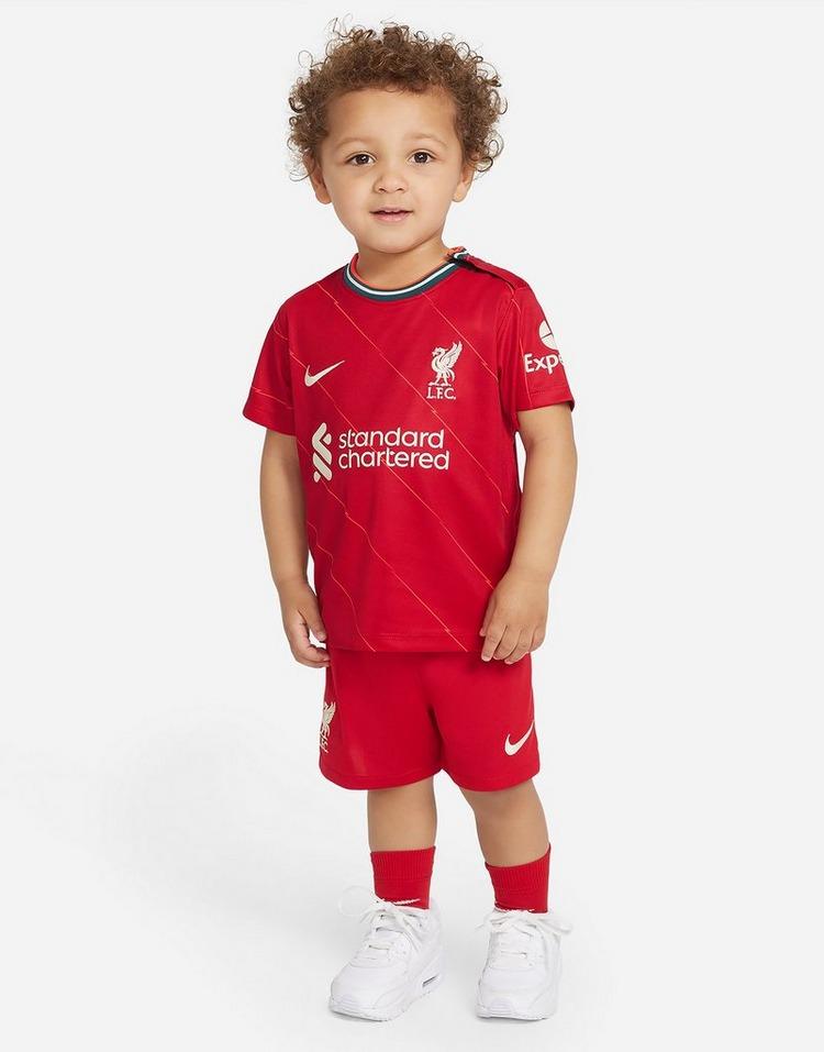 Nike conjunto Liverpool FC 2021/22 1. ª equipación para bebé
