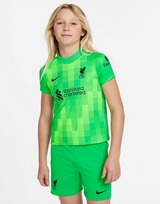 Nike conjunto de portero Liverpool FC 2021/22 1. ª equipación infantil