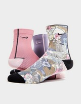 Nike 3-Pack Everyday Plus Training Ankle Socks Women's