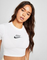 Nike Double Futura Slim Crop T-Shirt