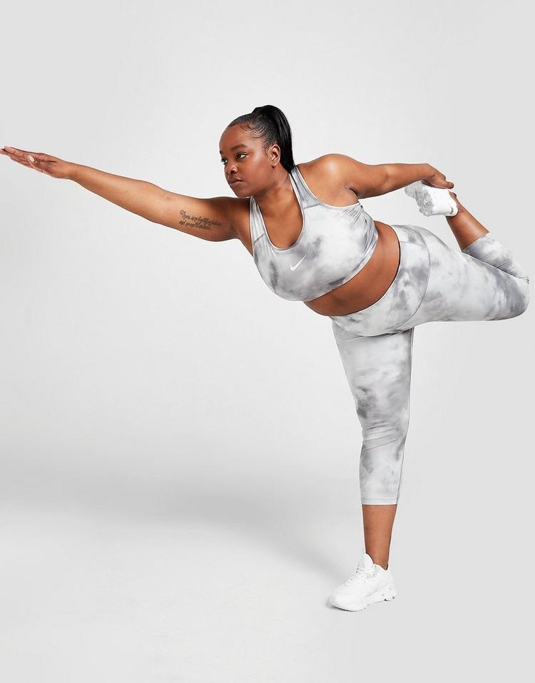 Nike Icon Clash Plus Size Tie Dye Sports Bra