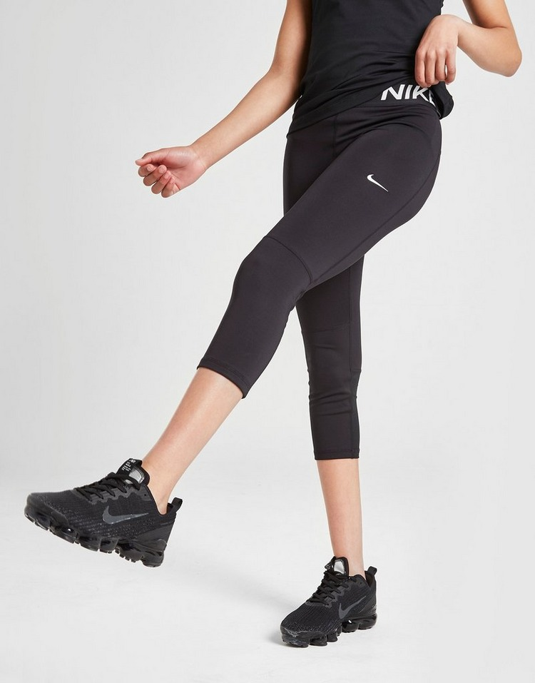 Nike Girls' Pro Capri Leggings Junior