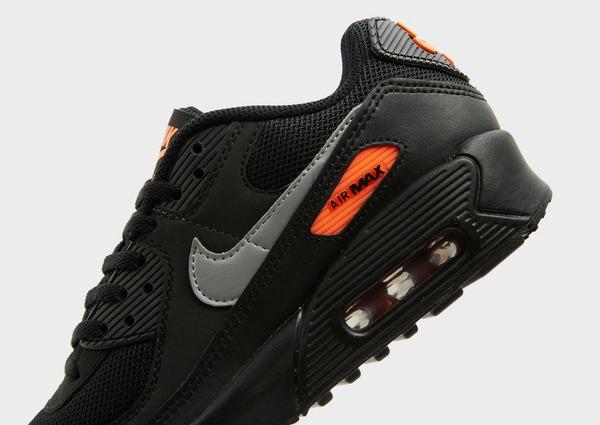 Nike Am 90 Bg Blk/slv/org$