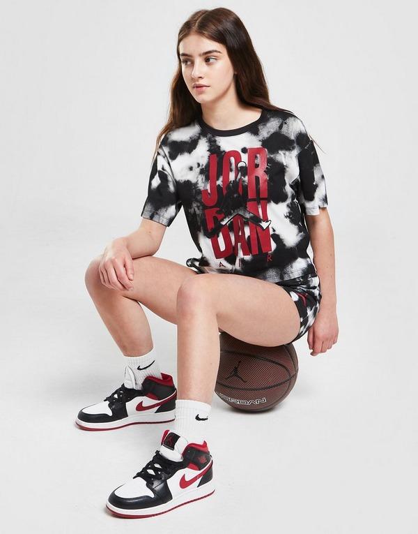 Jordan Girls' Short Sleeve Graphic Tie Dye T-Shirt Junior