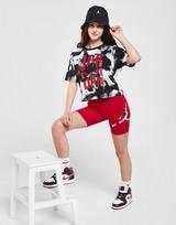 Jordan Girls' Tie Dye Logo Cycle Shorts Junior
