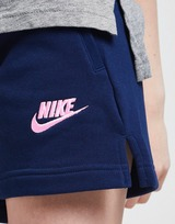 Nike Girls' Sportswear Club French Terry Shorts Junior