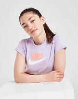 Nike Girls' Sportswear Crop Futura T-Shirt Junior