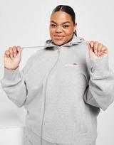 Ellesse Oversize Plus Size Full Zip Hoodie