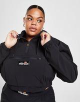 Ellesse Woven Badge 1/4 Zip Plus Size Jacket