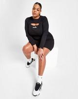 Ellesse Logo Rib Plus Size Cut Out Dress
