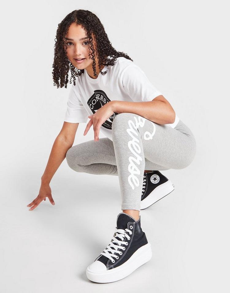 Converse Girls' Signature Chuck Leggings Junior