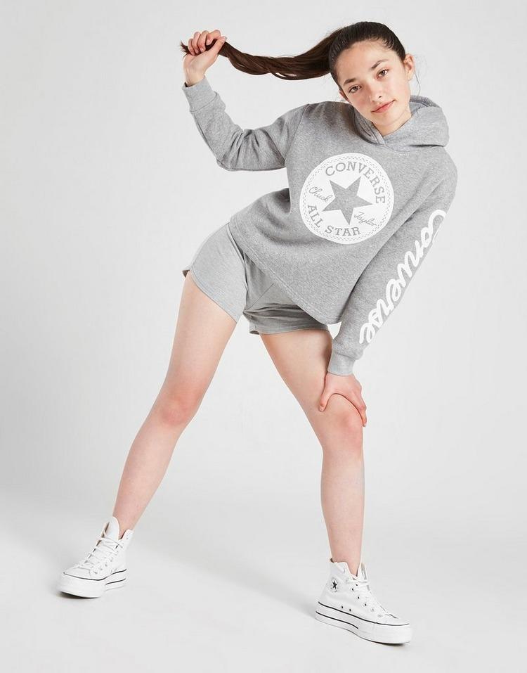 Converse Girls' Chuck Patch Crop Hoodie Junior