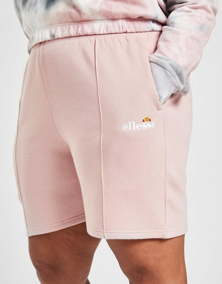Ellesse Pintuck Boyfriend Plus Size Shorts