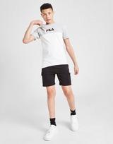 Fila Repeat F Colour Block T-Shirt Junior